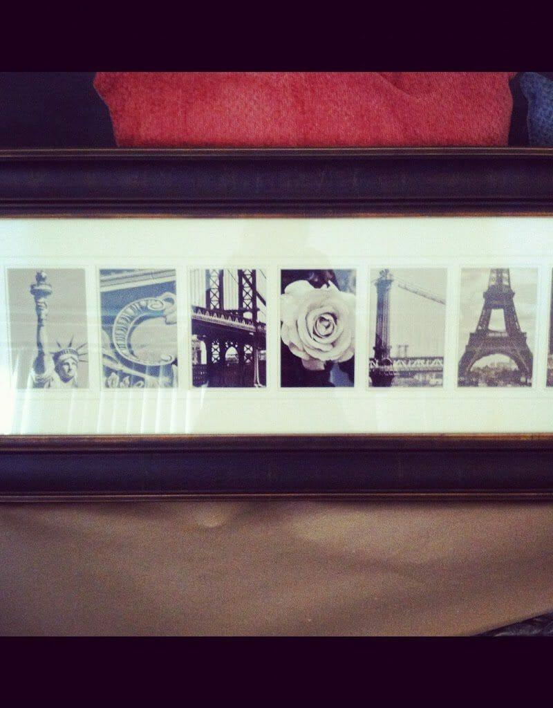 alphabet photography {creative gift idea!}