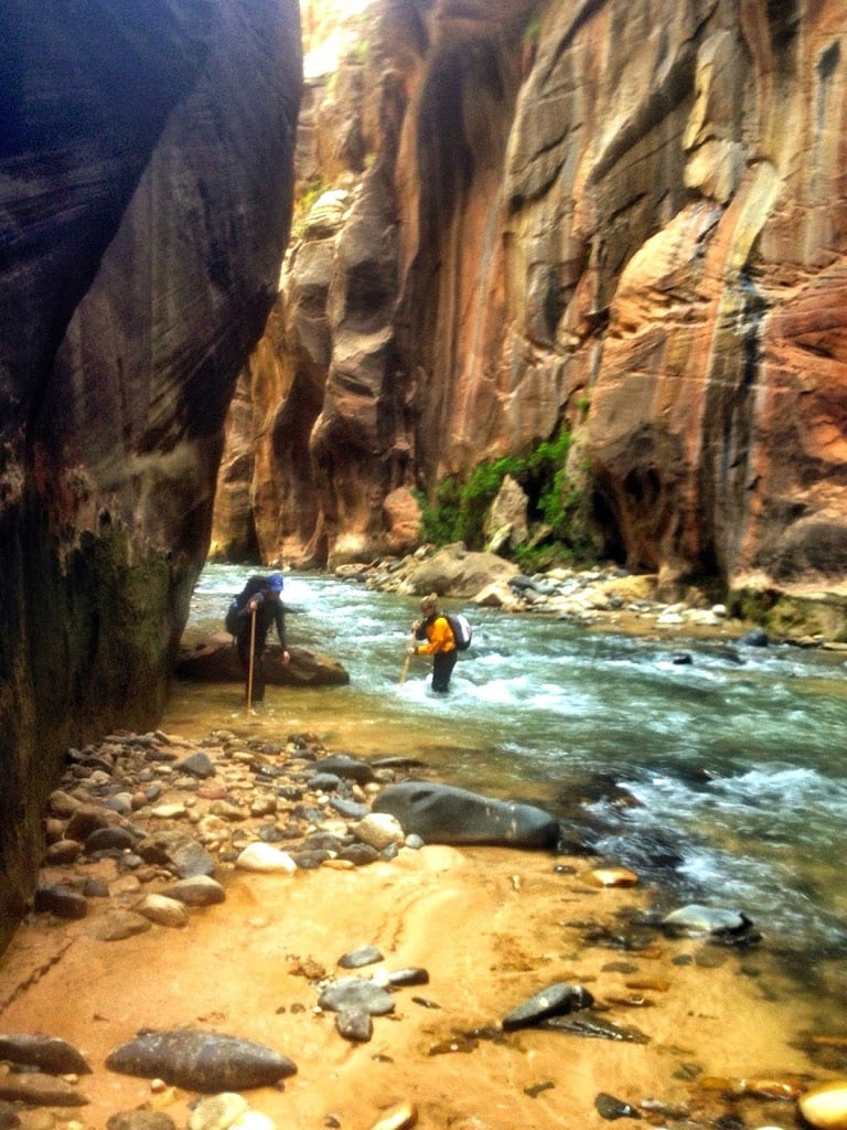 Adventure Time: Hiking the Zion Narrows
