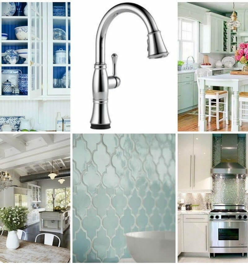 Affordable Kitchen Decor Ideas: My Kitchen Mini-Makeover Part Two {Delta Inspired Living}