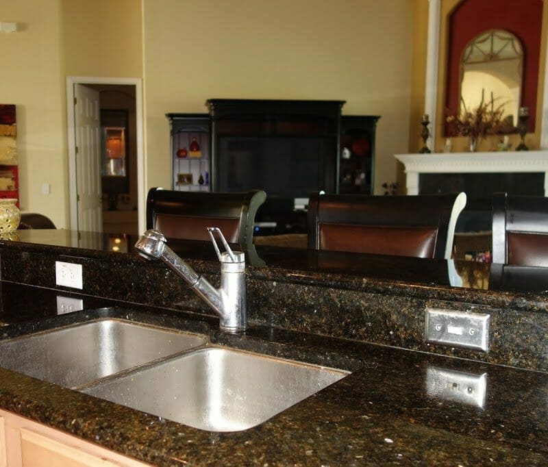 My Kitchen Mini-Makeover with Delta Faucet {Part 3}