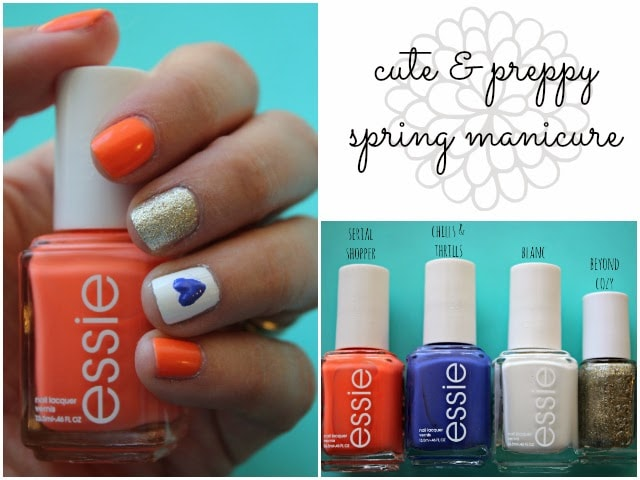 my favorite spring nail trends + two easy manicure ideas! | Ashley