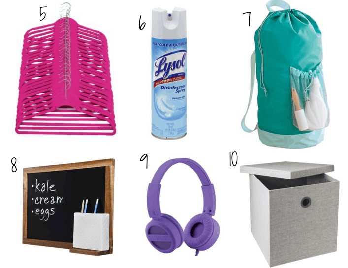College Dorm Room Essentials Ashley Brooke Nicholas - Dorm room essentials