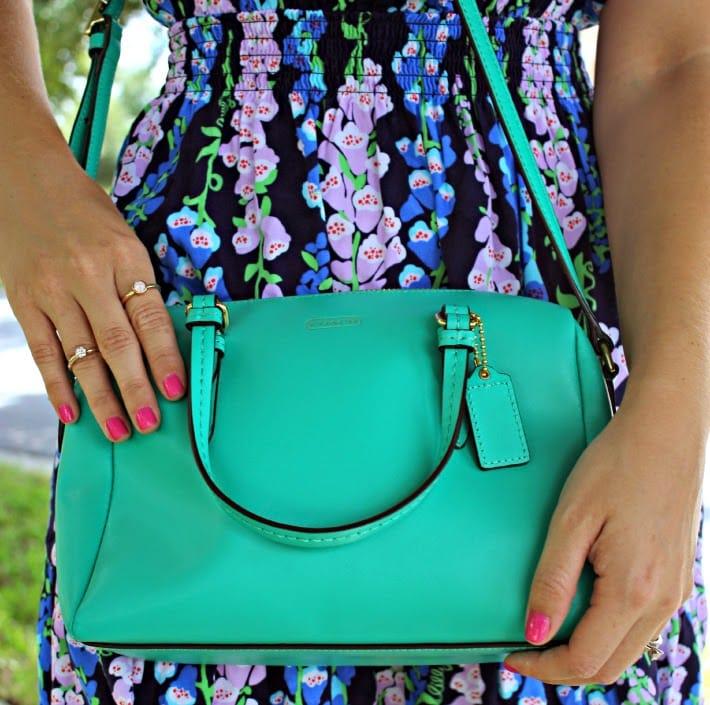twice handbag ootd + 50% off twice coupon