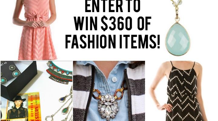Fall 2014 Fashionista Giveaway #2 {$360 Fashion Giveaway!}