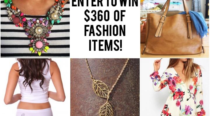 Fall 2014 Fashionista Giveaway #1 {Win $354 in Fashion Prizes!}