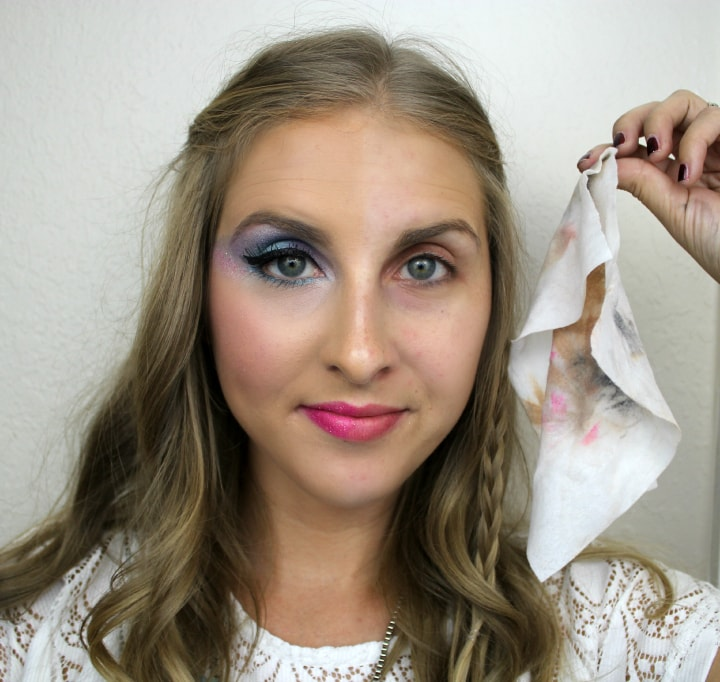 Image result for makeup wipes before after