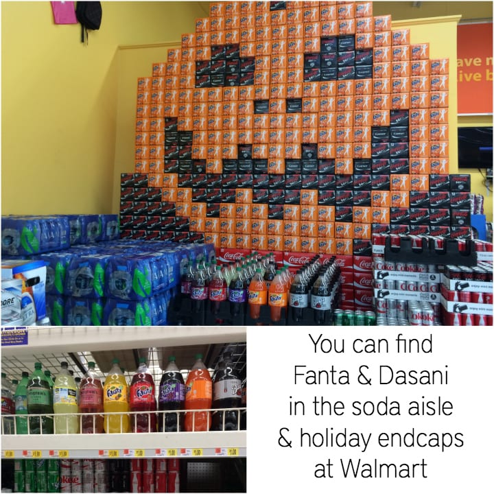 Walmart-Fanta-Dasani-#spookysnacks-#shop