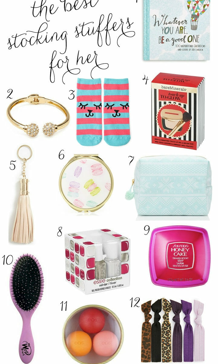 The Best Christmas Stocking Stuffers for Her