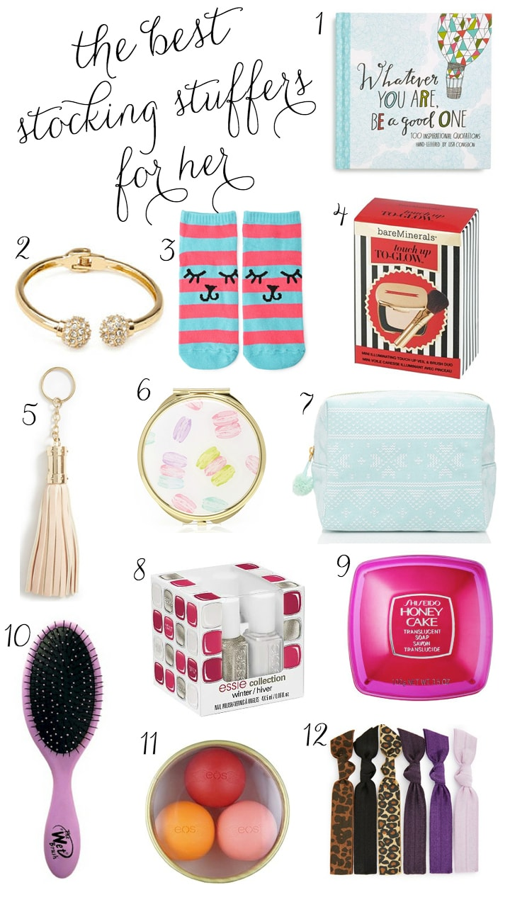 Christmas Stocking Stuffers the best christmas stocking stuffers for her | ashley brooke
