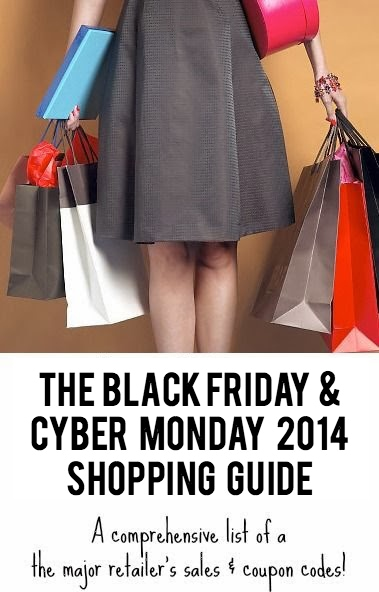The Ultimate List of Black Friday & Cyber Monday 2014 Sales & Coupon Codes