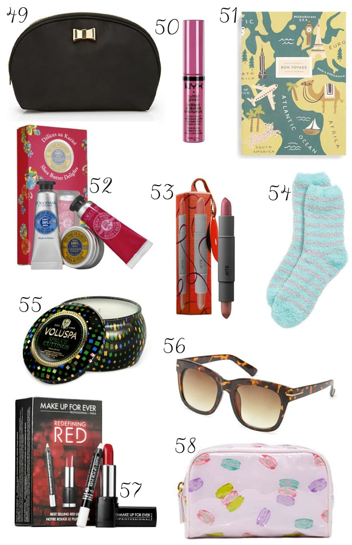 Check off the last of your Christmas gift list for the whole family with these fabulous and tiny stocking stuffer gifts that we've rounded up this Christmas. 45 Fun Stocking Stuffers Under $