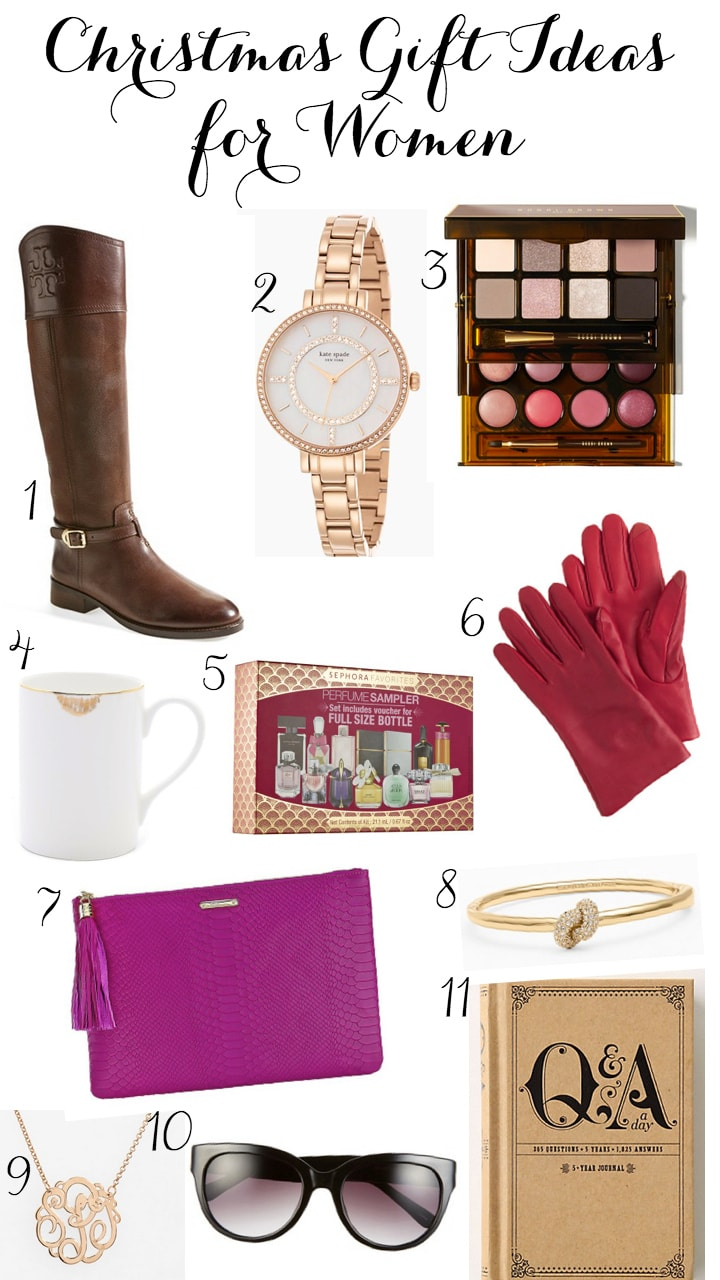 Womens christmas gift ideas