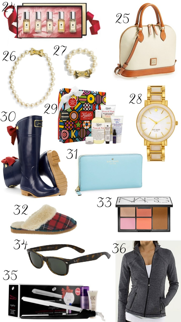 The Best Christmas Gifts For Women | Ashley Brooke Nicholas