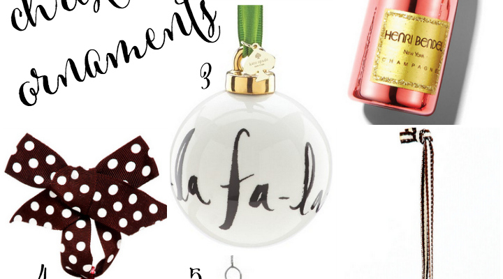 The Cutest Christmas Ornaments