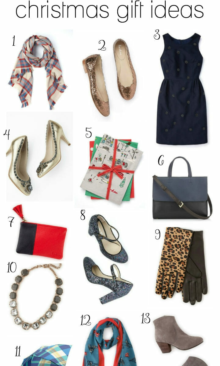 Classy and Chic Christmas Gift Ideas with Boden