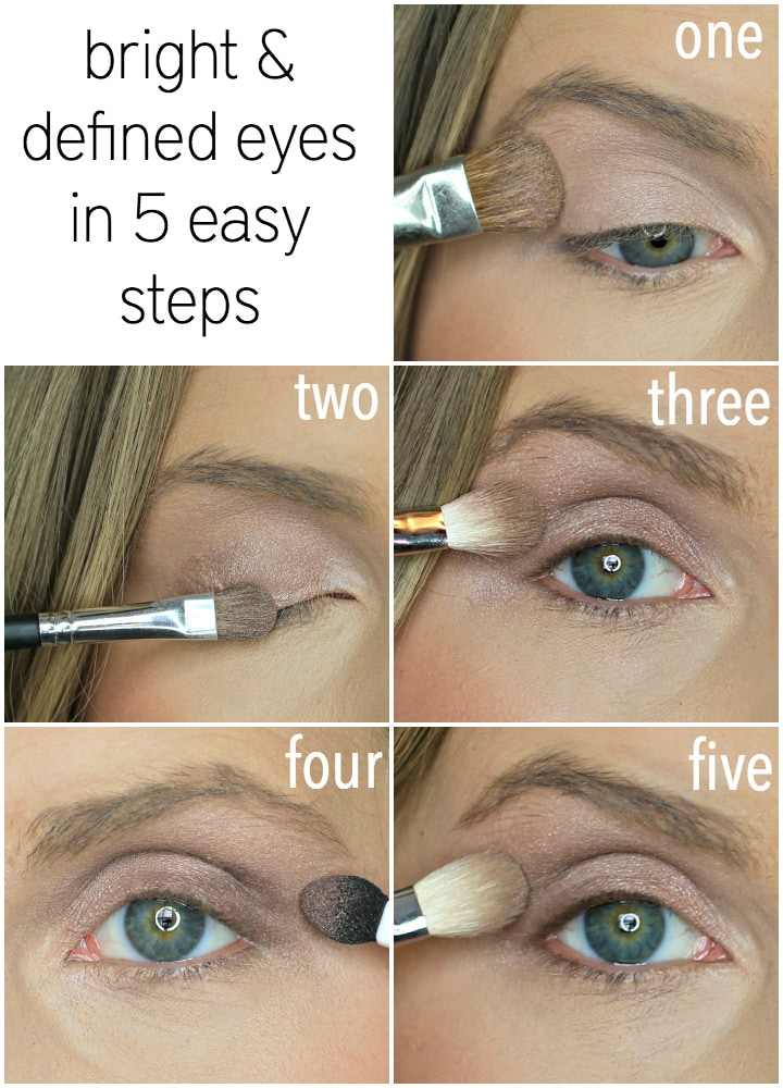 How to do natural eye makeup for brown eyes