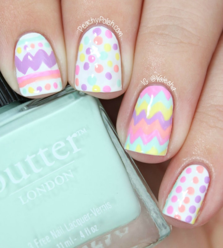 Easy Easter Nail Art: 15 Easy Manicure Ideas For Easter