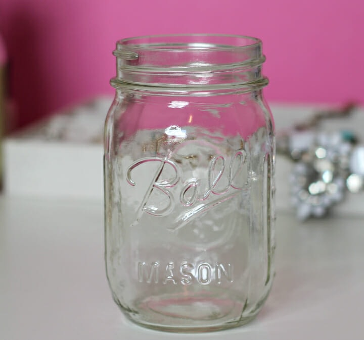 DIY Antiqued Mason Jars Tutorial | Florida Blogger Ashley Brooke Nicholas