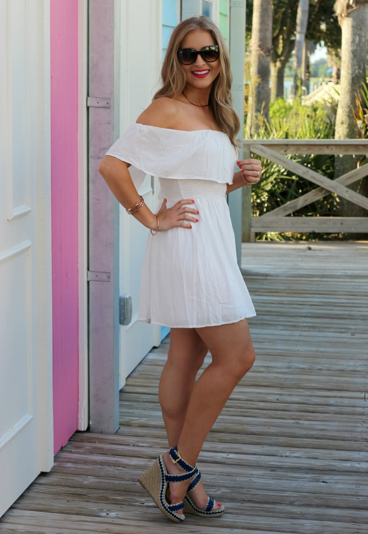 Nicholas White Dress