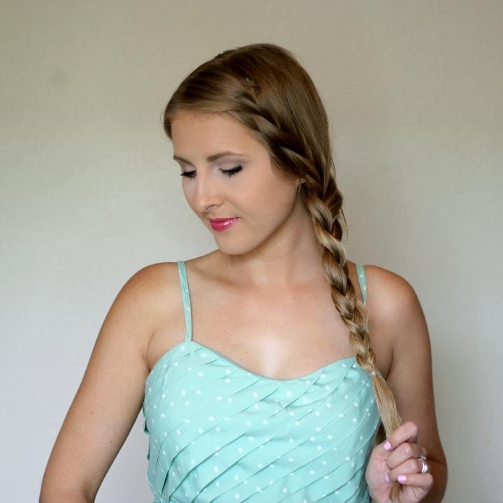 Easy Side Braid Tutorial Ashley Brooke Nicholas Beauty