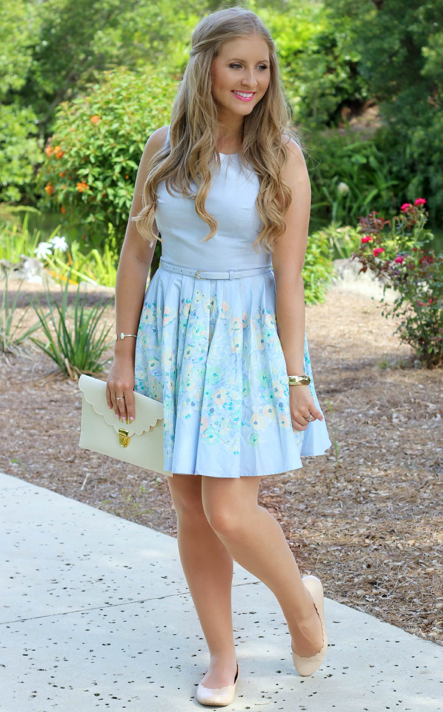 lauren-conrad-dress-hanes-hosiery-ashley-brooke-nicholas-florida-fashion-blogger