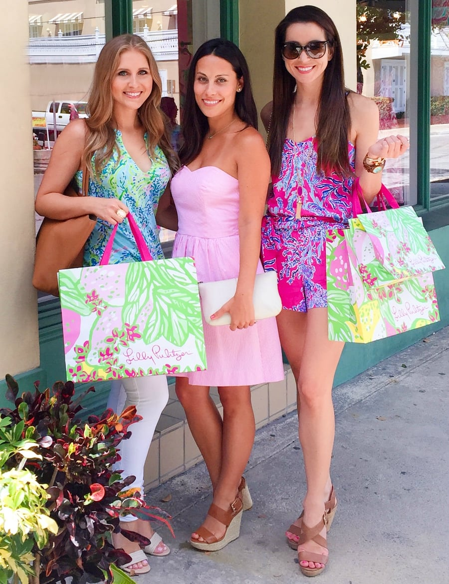 Lilly Pulitzer Key West store with Ashley Brooke Nicholas and Diary of A Debutante