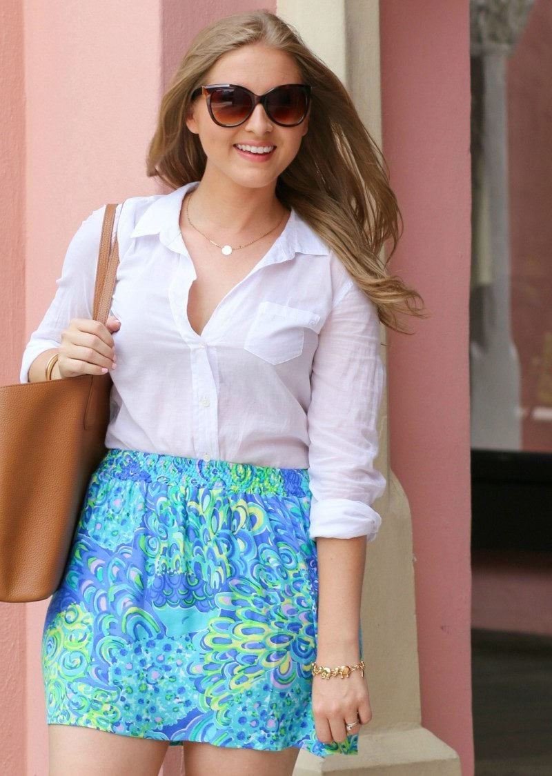 Lilly Pulitzer Amber Skirt at The Boca Raton Resort