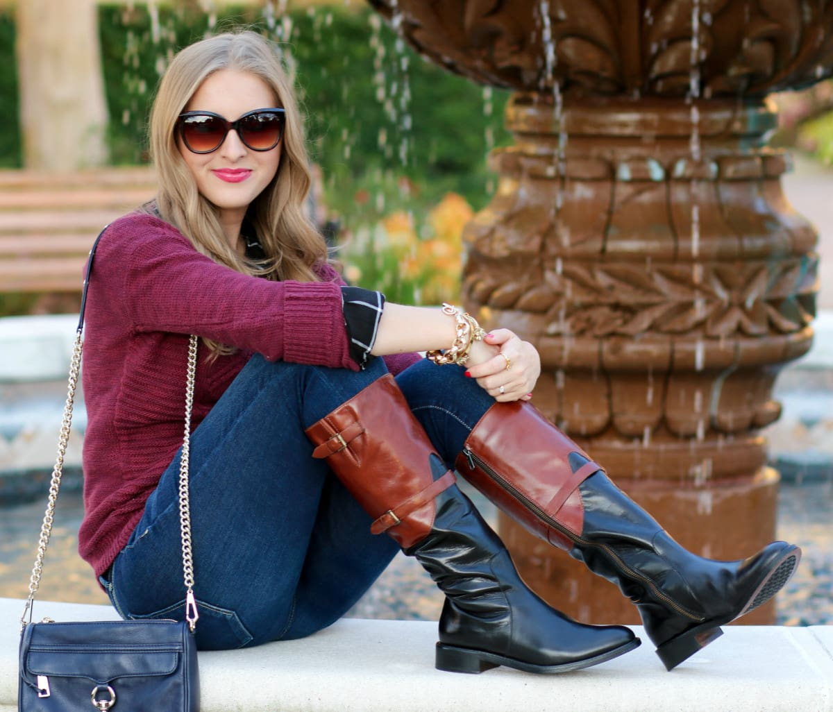 Classic Fall Style With Johnston Amp Murphy Ashley Brooke