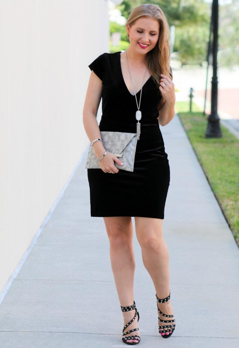 Little Black Dress With Forema Boutique Ashley Brooke