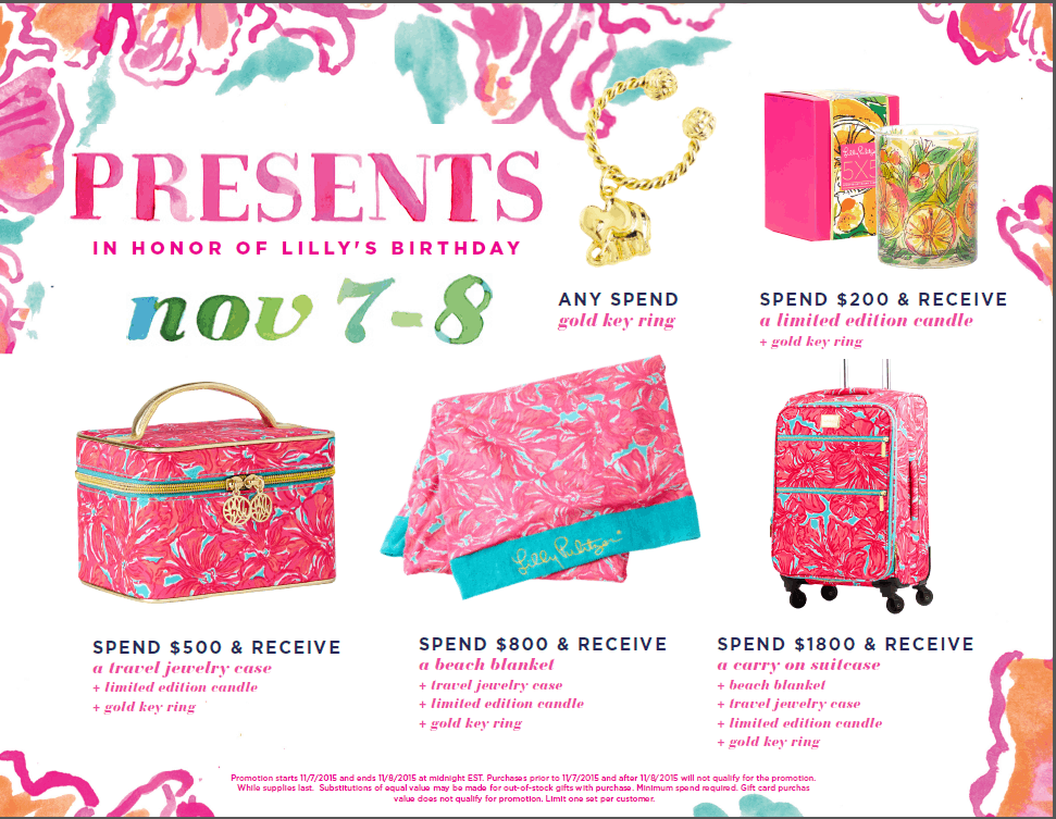 I have a ridiculous amount of items on my Lilly Pulitzer wish list, and I will definitely be picking a few things up during Lilly's Birthday sale!