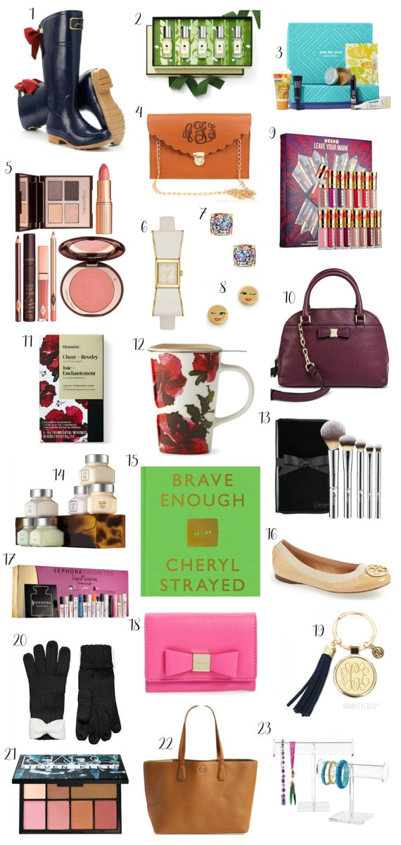 Christmas Gift Guide for Women  Ashley Brooke Nicholas