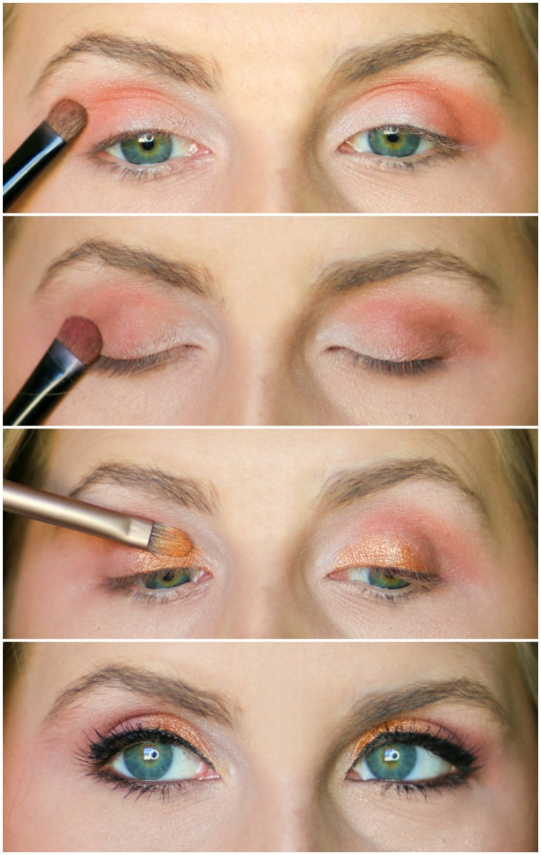 Colorful Drugstore Eye Makeup Tutorial Ashley Brooke Nicholas