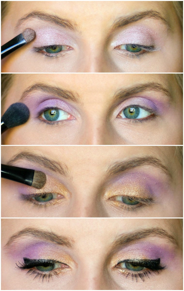 Colorful Drugstore Eye Makeup Tutorial Ashley Brooke Nicholas