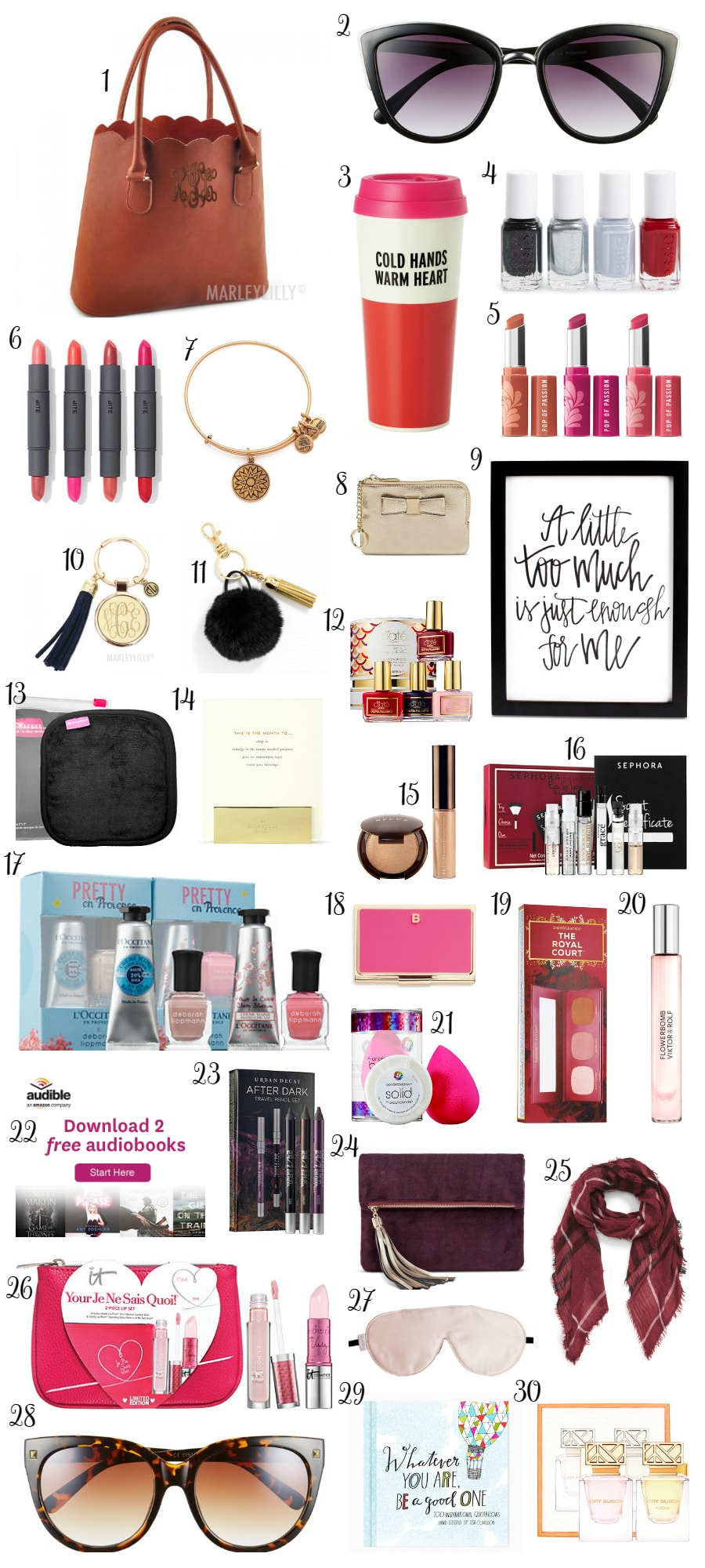 Christmas Gift Ideas for Women under $30