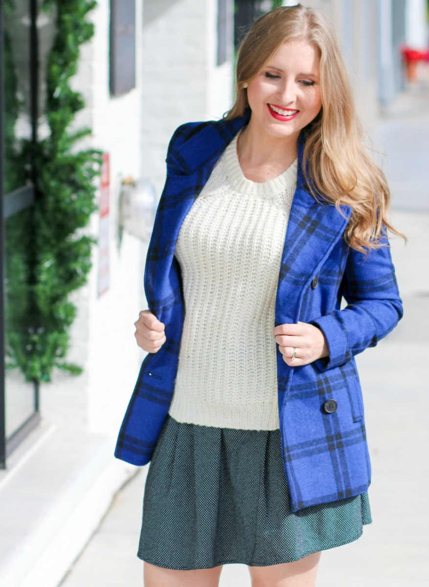 preppy winter outfit from Old Navy styled by fashion blogger Ashley Brooke Nicholas