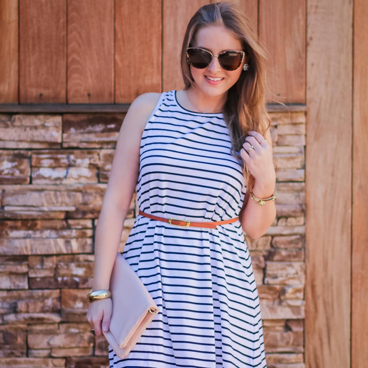 The Perfect Striped Dress