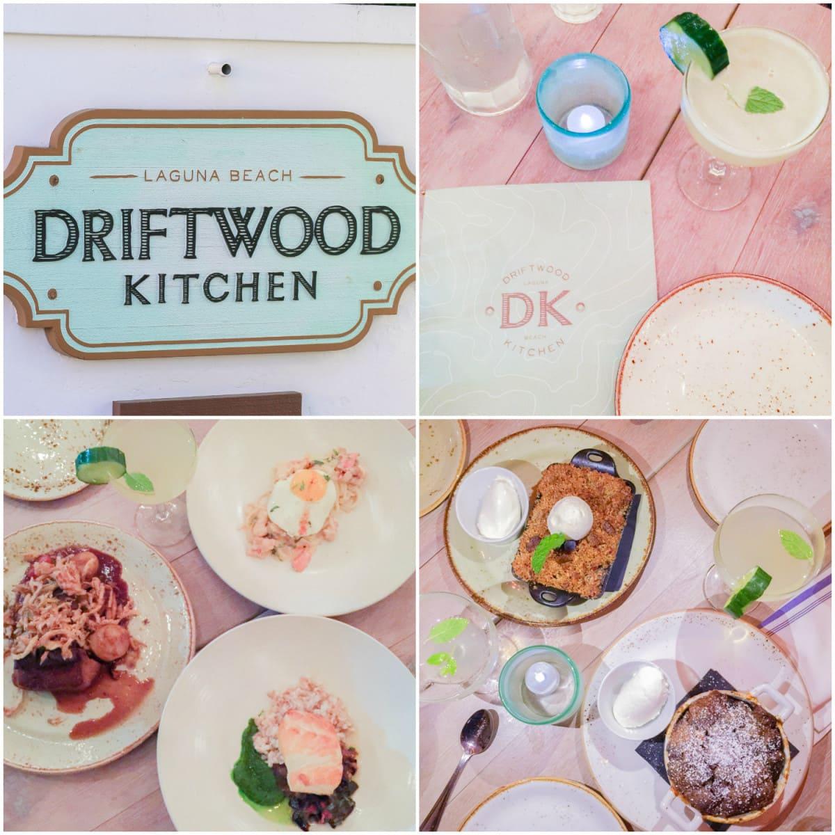 Driftwood Kitchen restaurant in Laguna Beach, California