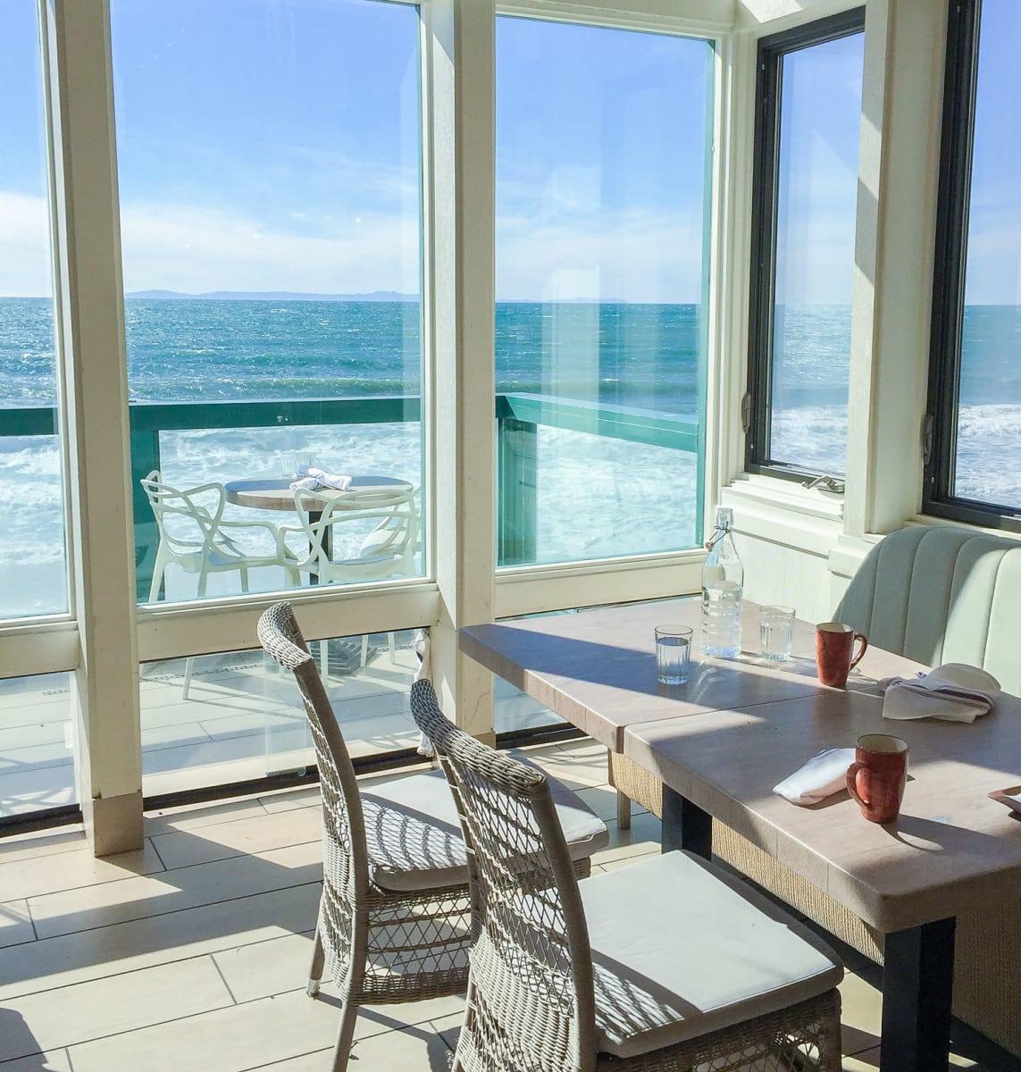 Driftwood Kitchen restaurant at the Pacific Edge Hotel in Laguna Beach, California