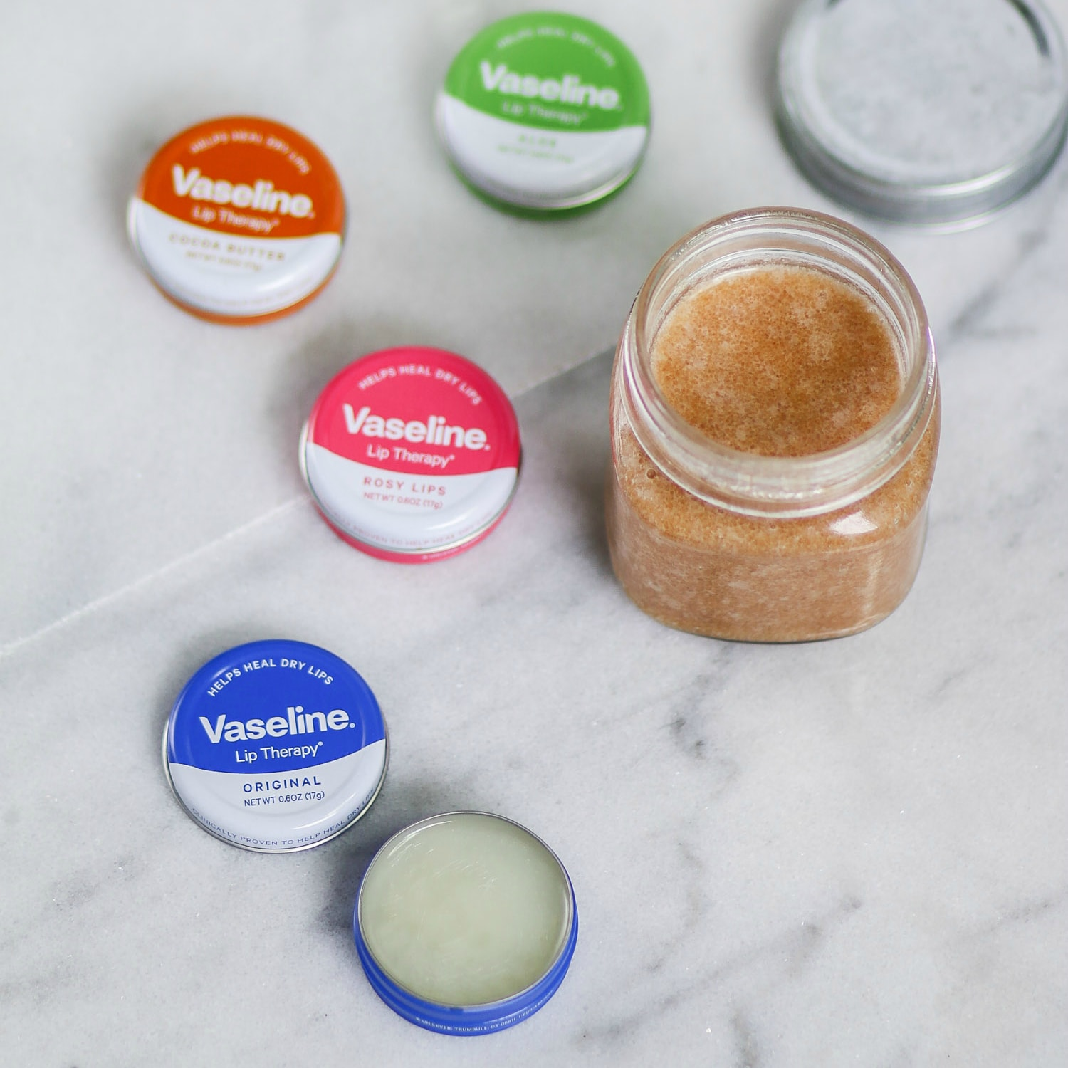 Learn how to heal and prevent chapped lips in today's post on Ashley Brooke! We're sharing an easy, all-natural lip scrub recipe and our favorite lip balm: the Vaseline Lip Therapy lip tins!