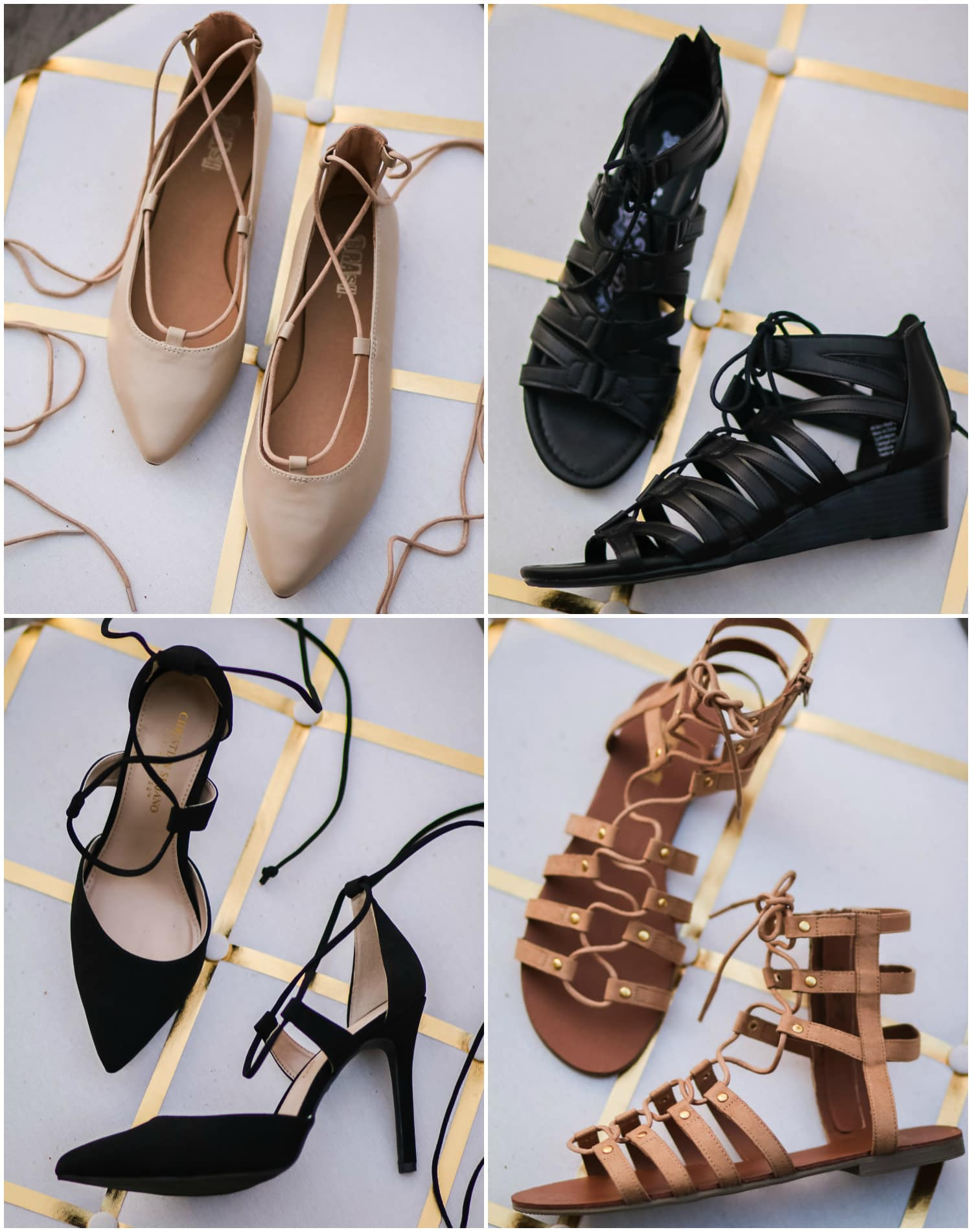 These lace-up shoes are so cute, and they're all available at Payless for under $40!