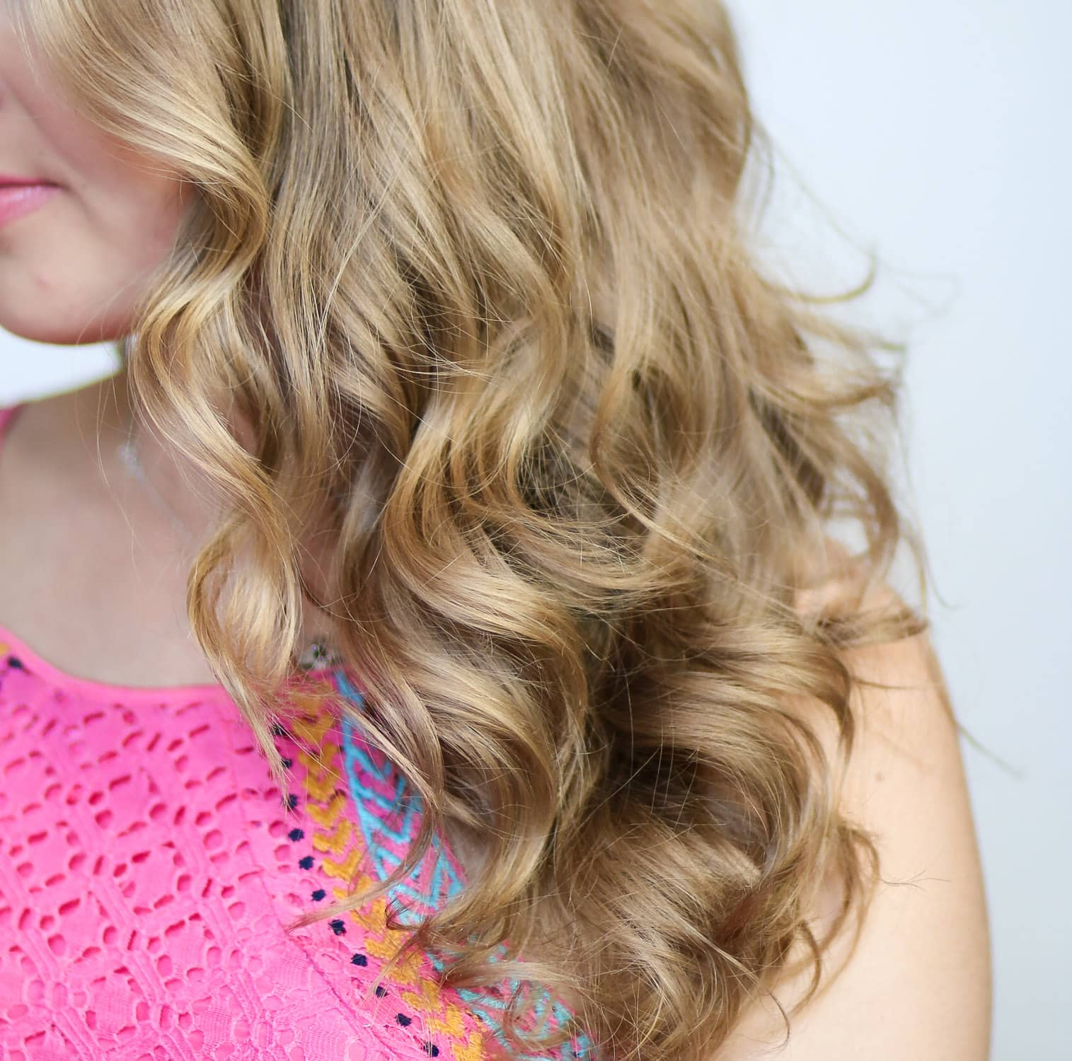 Easy Mermaid Curls Tutorial