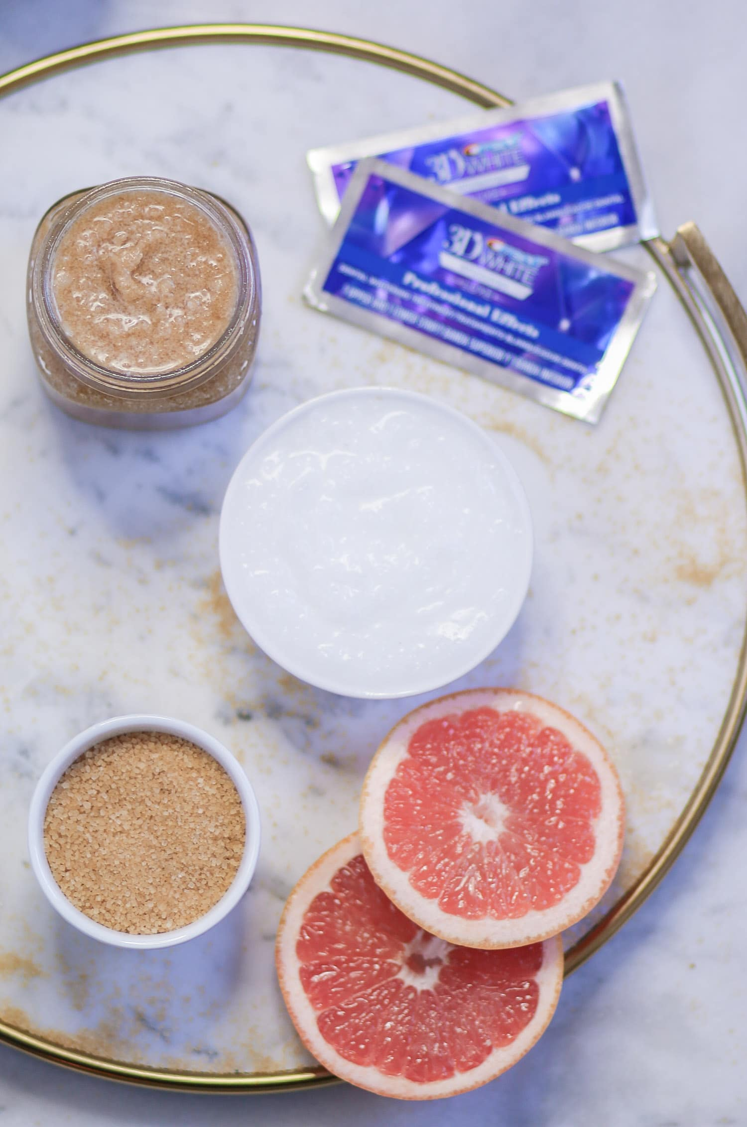 Get the softest lips at home with this easy DIY lip scrub recipe from beauty blogger Ashley Brooke from ashleybrookenicholas.com!
