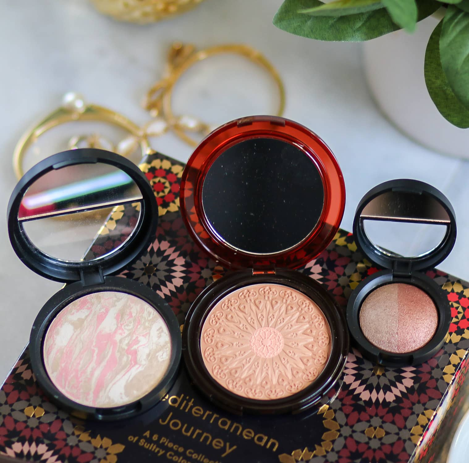 0e07716e90d1 The Laura Geller Mediterranean Journey Collection is so beautiful! The kit  includes Baked Balance-