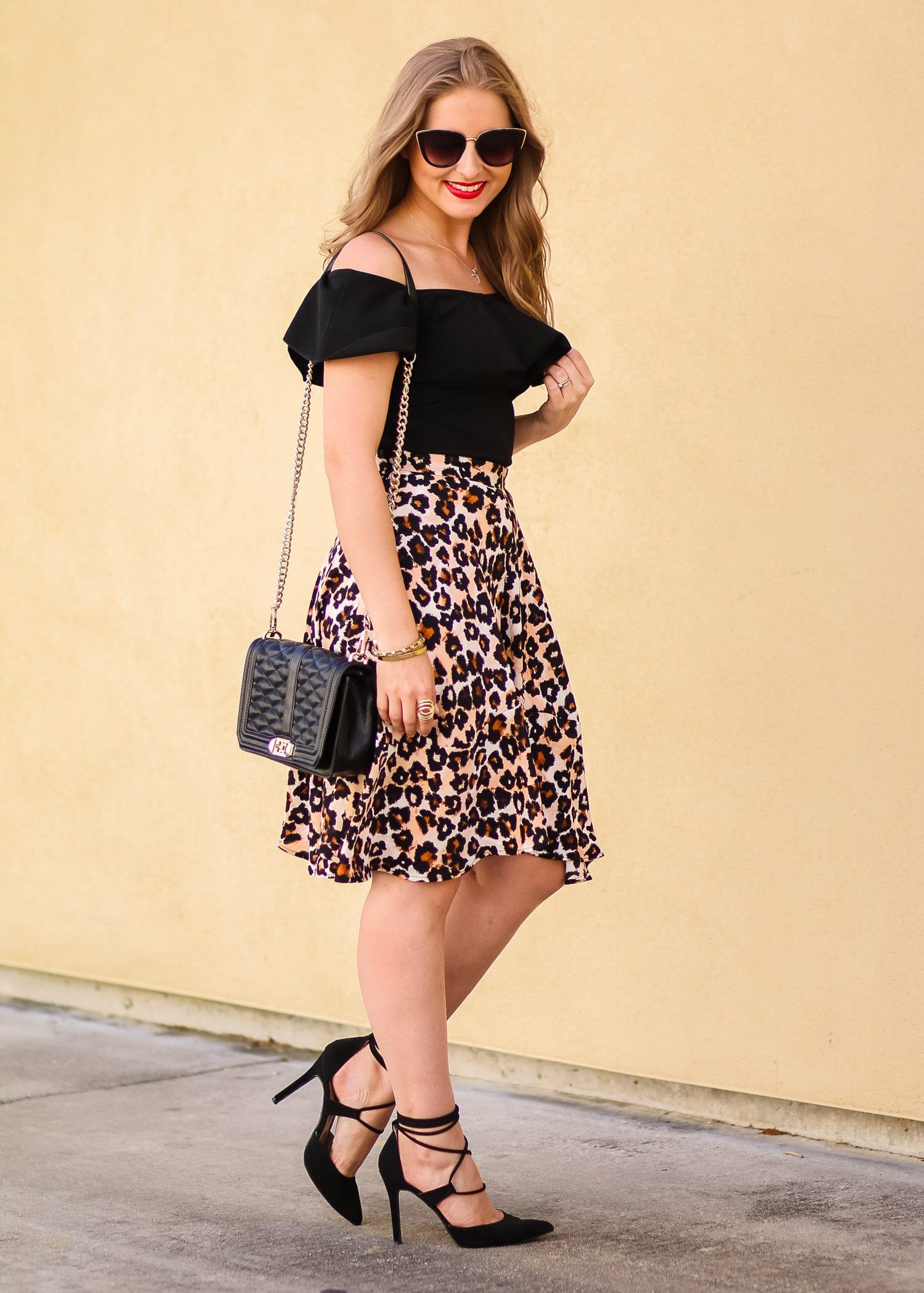 leopard-print-skirt-black-lace-up-heels-1045