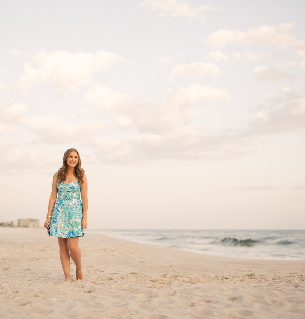 The Lilly Pulitzer Willow sundress might be my all-time favorite dress for summer! The colorful Lilly print instantly puts a smile on my face, and the flattering cut was the perfect choice for our Rosemary Beach vacation!