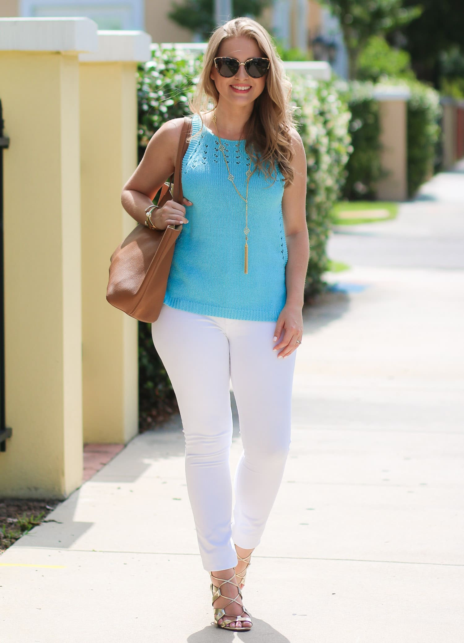Lilly-Pulitzer-Mac-Sweater-Tank-Breakwater-Blue-Banana-republic-gold-lace-up-heels-fashion-blogger-ashley-brooke-nicholas-2972