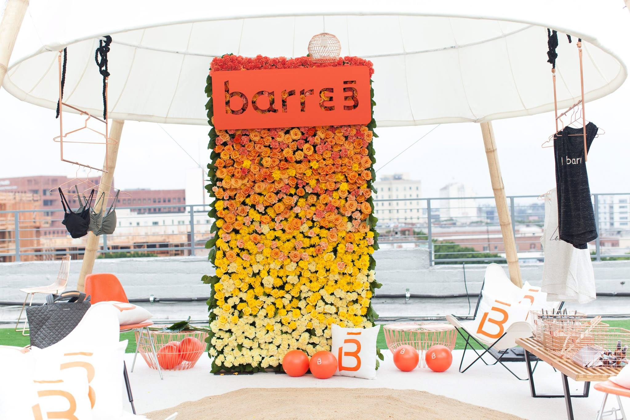 Barre 3 Display | Create + Cultivate Los Angeles 2016 Conference Recap + Review | Beauty and Style Blogger Ashley Brooke Nicholas