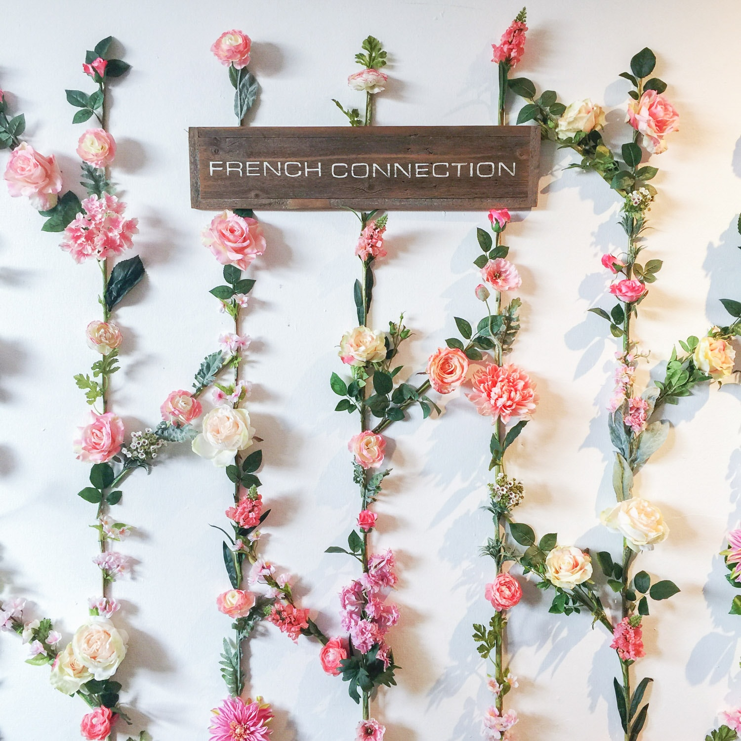 French Connection display | Create + Cultivate Los Angeles 2016 Conference Recap + Review | Beauty and Style Blogger Ashley Brooke Nicholas