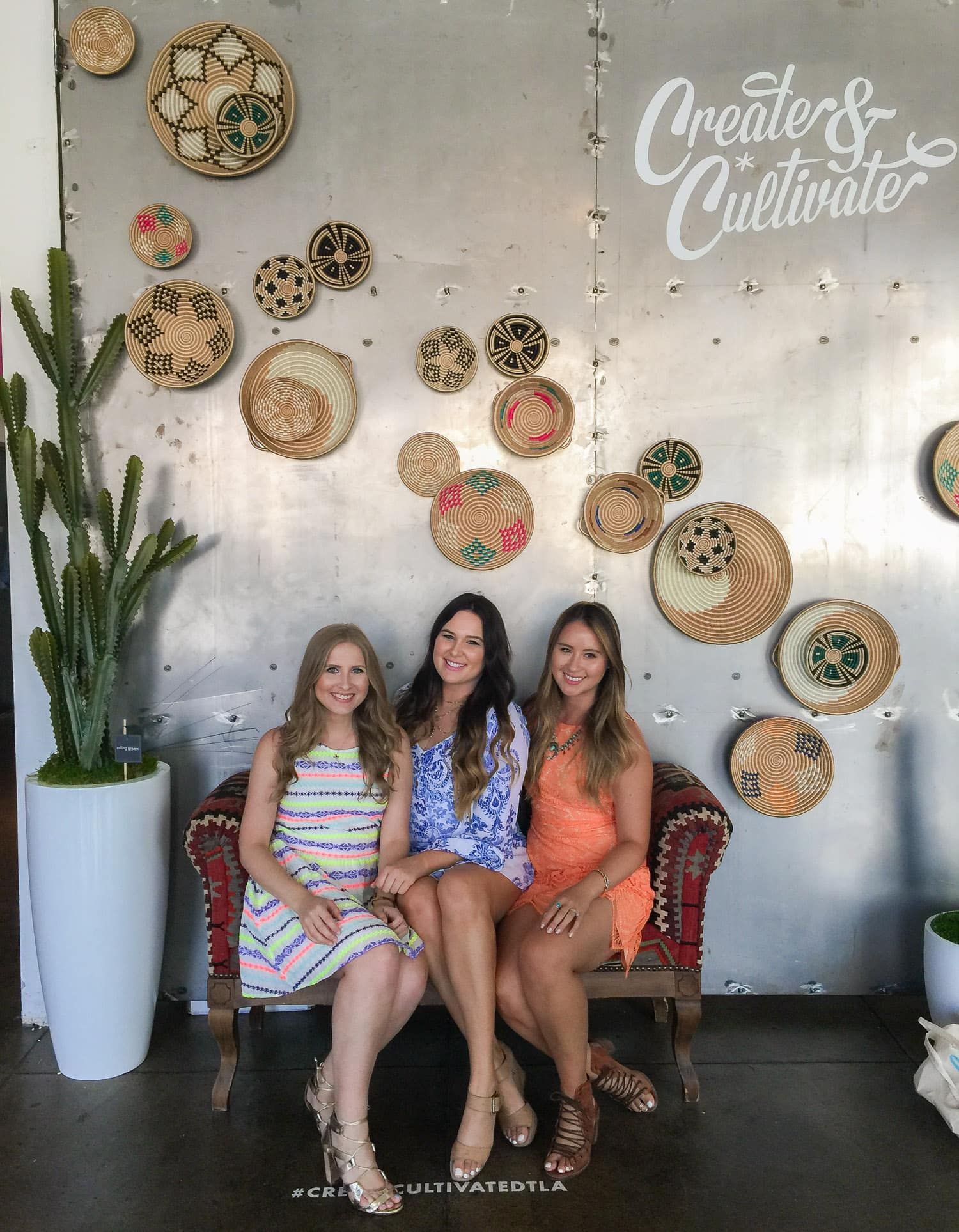 Beauty and fashion bloggers Ashley Brooke Nicholas, Mash Elle, and Boho Nouveau | Create + Cultivate Los Angeles 2016 Conference Recap + Review | Beauty and Style Blogger Ashley Brooke Nicholas