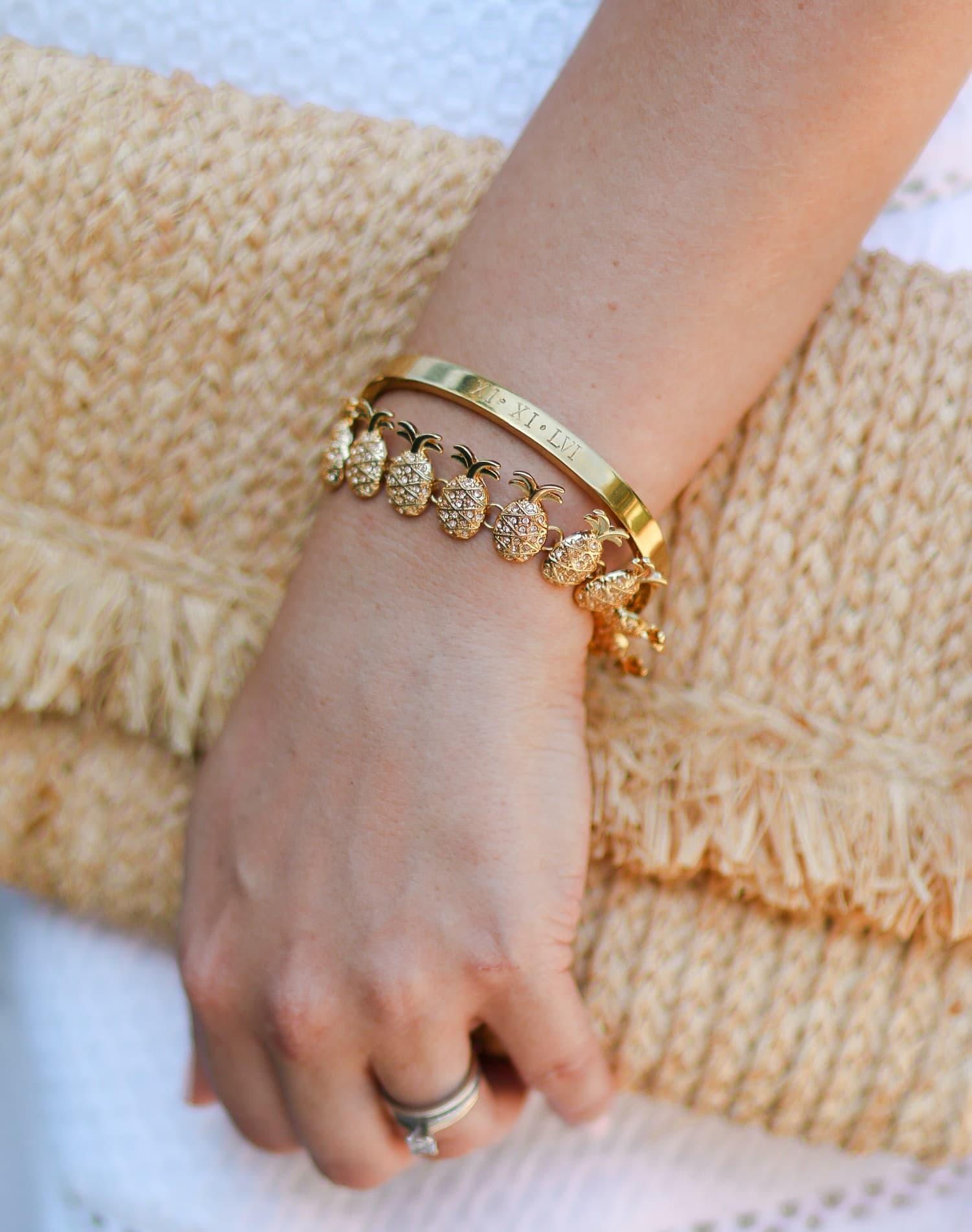 taudrey-roman-numeral-engaged-bracelet-baublebar-gold-pineapple-bracelet-3134